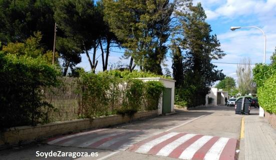 Viviendas y calles de San Lamberto