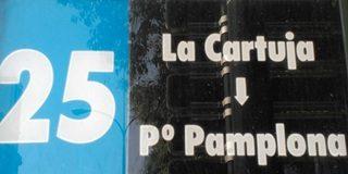 Paradas línea 25 TUZSA en Zaragoza