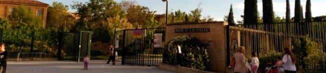 Entrada al Parque Delicias de Zaragoza
