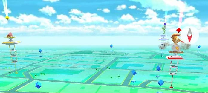 Mapa Gimnasios Pokemon Go.Mapa De Gimnasios De Pokemon Go En Zaragoza