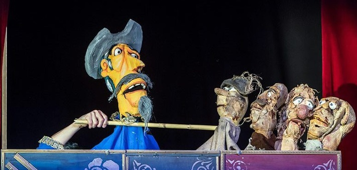Parque Marionetas en la ciudad de Zaragoza