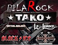 concierto pilarock tako tributos AC/DC Black Ice Tribute Band La Leñera Leño Metalmania Metallica Silencio de los Héroes
