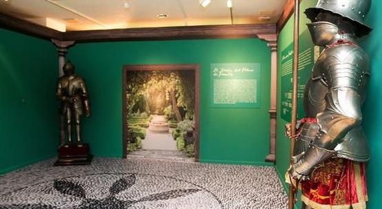 Exposición de la Zaragoza de los Pignatelli en el Patio de la Infanta