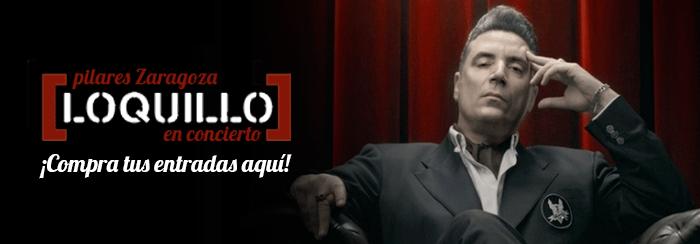 Comprar entradas para el concierto de Loquillo durante las Fiestas del Pilar 2016 en Zaragoza