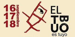 Programa de Fiestas de El Tubo en Zaragoza