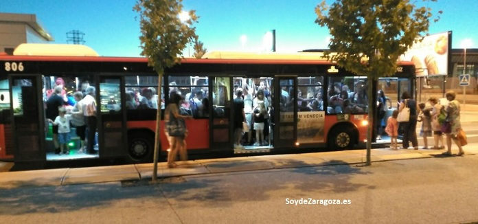 Paradas de autobús de la línea 31 de AUZSA