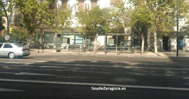 Paradas de la línea 33 de autobús de Zaragoza