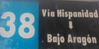 Línea 38 de Auzsa en Zaragoza