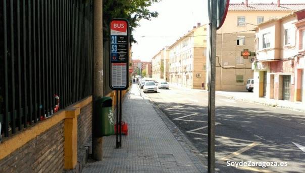 Línea 53 de AUZSA en Antonio Leyva