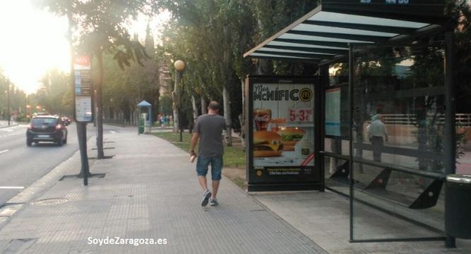 Parada de la línea 29 en Salvador Allende / Avenida San Juan de la Peña