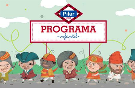 Programa infantil fiestas del pilar 2016