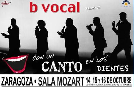 Comprar entradas B Vocal Fiestas del Pilar 2016 Auditorio