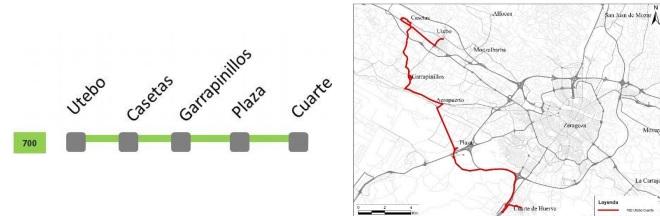 Una nueva línea de autobús unirá Casetas con Cuarte pasando por PlaZa