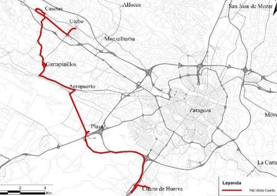 Una nueva línea de autobús unirá Casetas con Cuarte pasando ...