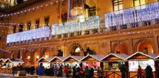 Distribución de las atracciones de la Plaza del Pilar